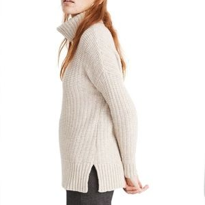 Madewell | Ribbed Knit Turtleneck Sweater